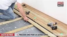 comment fixer des lames de terrasse