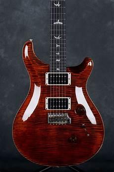 Prs Usa Ltd Edition Custom 24 Orange Tiger 10 Top Rich