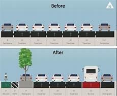 largeur d une voiture quand les pistes cyclables am 233 liorent le trafic automobile carfree fr