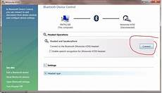 Connecting Bluetooth Headset To Windows 7 User