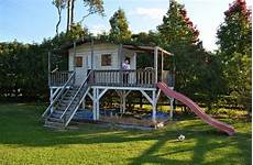 backyard landscaping cubby house plans better homes and