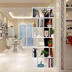 arredamento mensole a parete homfa wood bookcase 6 tier shelves s shape bookshelf free