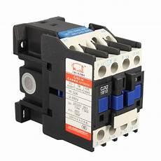 ac contactor ac220v coil 32a 3 phase 1no 50 60hz motor