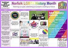 the norfolk lgbt lesbian gay bi trans history month society events