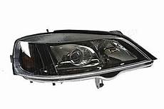 opel astra g 2000 2004 electric headlight front l black
