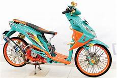 Modifikasi Motor Matic Beat by Modifikasi Honda Beat Khusus Racing Bengkel Modifikasi