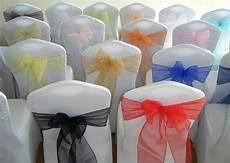 chair cover sashes bows organza new uk for weddings best value ebay