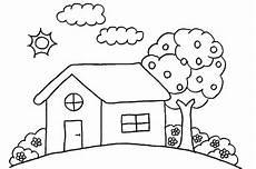 Ausmalbilder Haus Mit Baum Nur F 252 R Kinder S 252 Dtiroler Verein Kinderreicher Familien