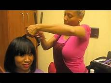 How To Cut Weave Into A Bob