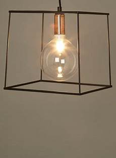 bhs illuminate atelier pendant black box frame pendant light with oversized