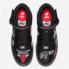 air supreme supreme x nba x nike air 1 mid black sneakers fr
