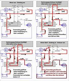 schaltplan trennrelais fur zusatzbatterie wiring diagram