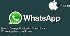 how to change instagram notification sound on iphone how to change notification sound for a whatsapp group on