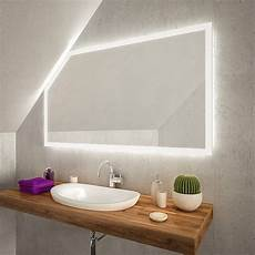 Spiegelschrank Für Bad - cuarto led badspiegel mit dachschr 228 ge kaufen