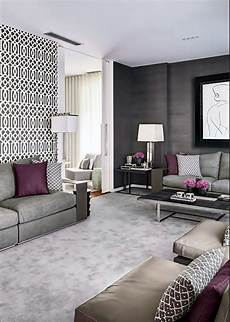 purple and gray living room decor 40 grey living room ideas to adapt in 2016 bored