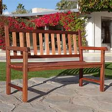 belham living richmond straight back 4 ft outdoor bench outdoor benches at hayneedle