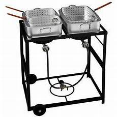 outdoor gourmet double burner fry cart mike pinterest