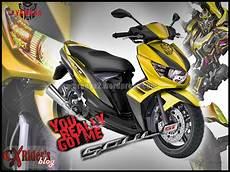 Modifikasi Motor Soul Gt 125 by 78 Modifikasi Motor Mio Soul Gt 125 Terlengkap Kujang Motor