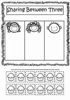 division concept worksheets 6139 equal splitting numbers introduction to division worksheets kindergarten math