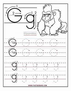 worksheets letter g 22997 worksheets for preschoolers printable letter g tracing worksheets for preschool alphabet