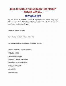 how to download repair manuals 2001 chevrolet silverado 3500 free book repair manuals 2001 chevrolet silverado 1500 pickup repair manual by sheffieldbronsonipqgz issuu
