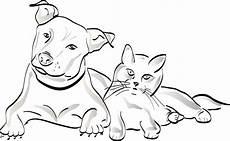 Malvorlagen Hunde Und Katzen Katzen Ausmalbilder Zum Ausdrucken Kostenlos Malbuch