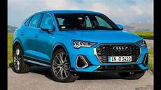 Audi Q3 Coupe - 2020 audi q3 sportback turbo blue coupe suv