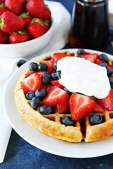 Belgian Waffles Recipe Tried True