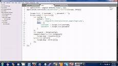 angularjs send form data to php part 2 youtube