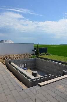 Garten Pool Selber Bauen - schwimmbecken garten pool selber bauen diy schwimmbad