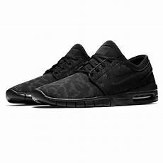 sport shoes nike sb stefan janoski max black black