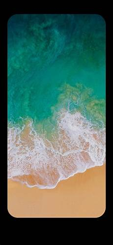 wallpaper notch these iphone x wallpapers can completely hide the notch