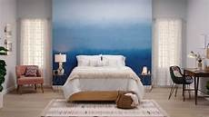 how to paint a beautiful ombre accent wall schlafzimmer