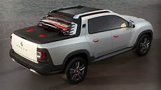 renault up truck renault turns duster into oroch truck concept for