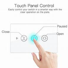 Moeshouse Wifi Rf433 Smart Touch Curtain by Moeshouse Us Eu Wifi Rf433 Smart Touch Curtain Roller