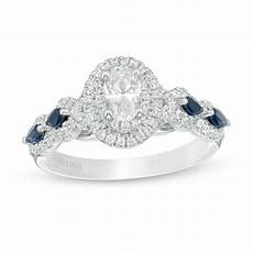 vera wang love collection 0 95 ct t w oval diamond and