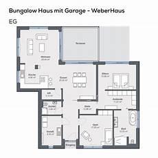 Grundriss Bungalow 3 Zimmer - gundriss bungalow haus mit garage pultdach architektur