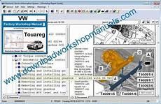 auto repair manual online 2011 volkswagen touareg parking system vw touareg workshop repair manual