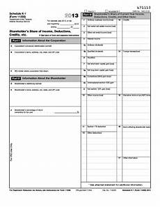 2013 form irs 1120s schedule k 1 fill online printable fillable blank pdffiller