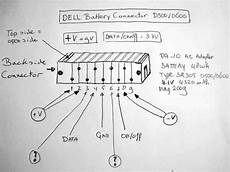 Inside A Dell D610 Battery Connector Pinout And Signal