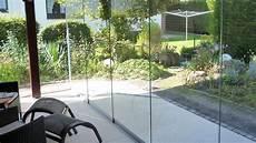 schiebetür glas terrasse 5 teiliges schiebet 252 r system