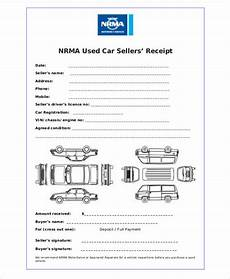 used car receipt template car payment receipts 9 exles in word pdf