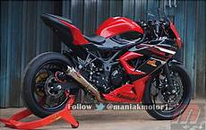250 Mono Modif by Modifikasi Kawasaki 250rr Mono Di Sentul Top Speed