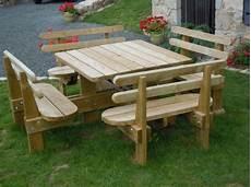 table de pique nique en bois autoclav 233