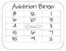 addition bingo worksheets 8794 learning by numbers math bingo