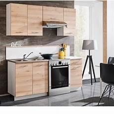 meuble de cuisine bois naturel x 5 desserte et rangement