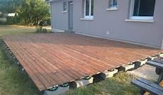 faire une terrasse pas cher comment faire une terrasse en bois pas cher veranda