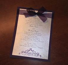 diy plum wedding invitations turns out to only be about 80 cents per invitation including