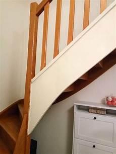 peindre un escalier en blanc comment repeindre facilement un escalier en bois