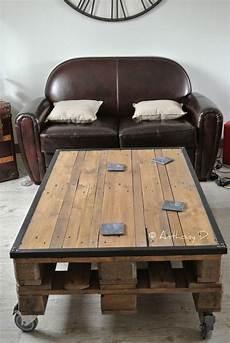 fabriquer sa table basse la table basse en palettes d anthony palette
